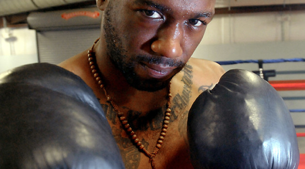 Austin Trout in training