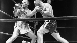Marciano's one punch KO of Walcott