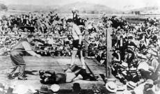 Jack Johnson Knocked Out by Jess Willard