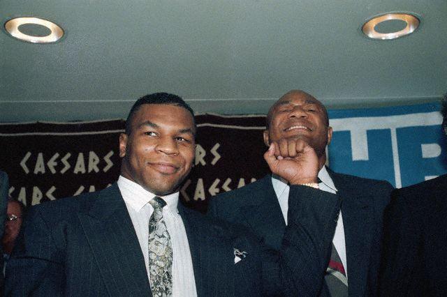 Boxing George Foreman Vs Evander Holyfield April 19 1991