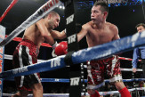 Donaire caught Darchinyan with a monstrous left hook