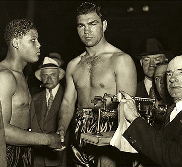 Schmeling-and-Louis weigh-in