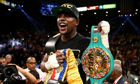 """Money"" Mayweather: more than 40 million for an extended sparring session."
